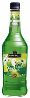 Hiram Walker Schnapps Sour Apple 1.00l